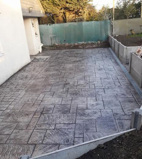 Beneficii ale betonului amprentat